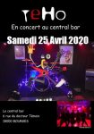 Printemps de Bourges 2020 Central Bar